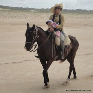 Uruguai a cavalo porque é uma experiência divina para compartilhar em família