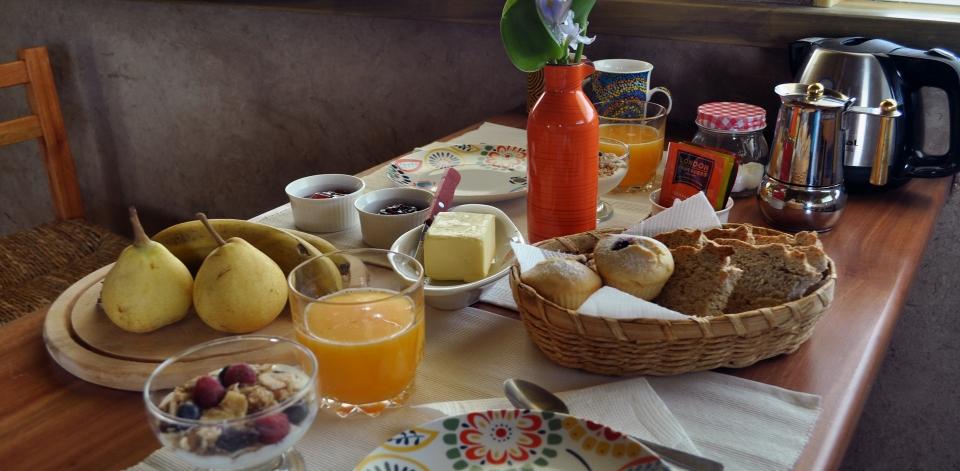 Desayuno cabaña2